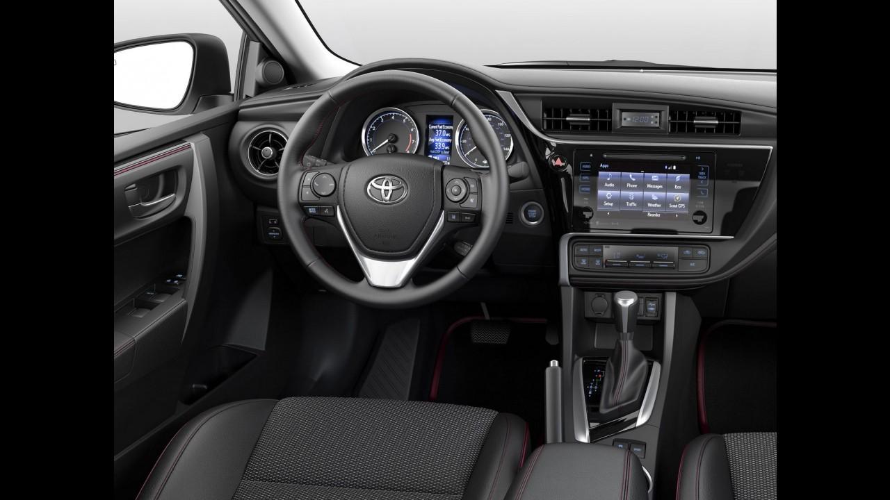 Toyota Corolla 2017 ganha retoque visual e mais equipamentos nos EUA