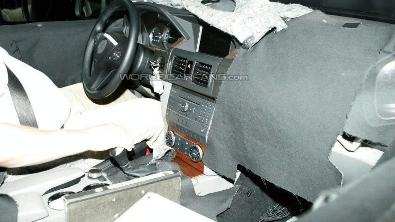 Mercedes GLK Interior Spy Photo