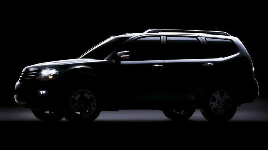 Teaser Photo of New 7-Seater Kia SUV Released