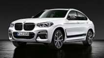 BMW X4 2018 catálogo M Performance
