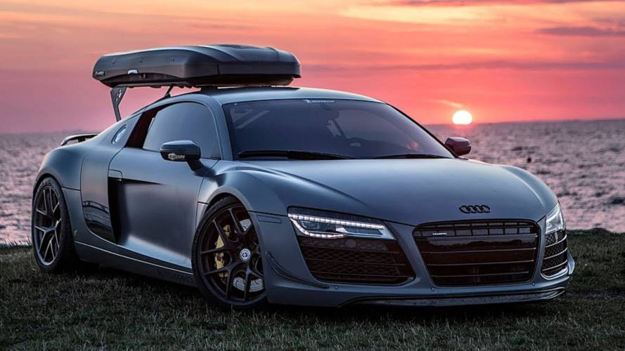 Spend 5 Minutes with last Audi R8 fitted with a manual gearbox
