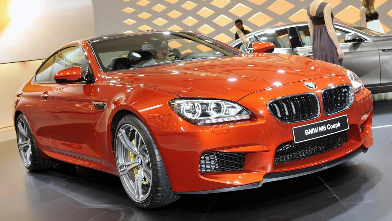 2012/2013 BMW M6 Coupe world debut at 2012 Geneva Motor Show