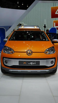 Volkswagen X Up concept live in Geneva 06.03.2012