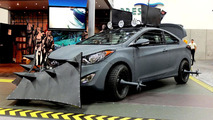 Hyundai Elantra Coupe Zombie Survival Machine 13.7.2012