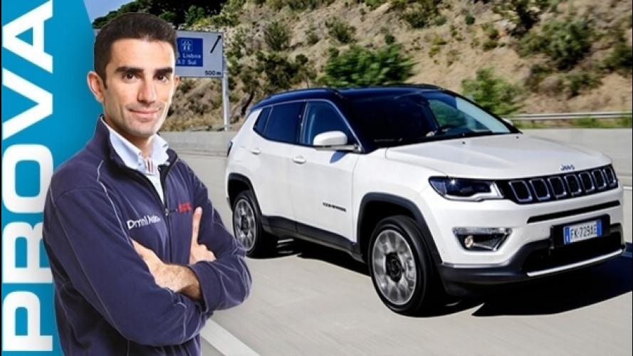 Jeep Compass, ecco come va il nuovo SUV italo-americano [VIDEO]