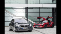 Mercedes S 65 AMG and SLS AMG GT Final Edition