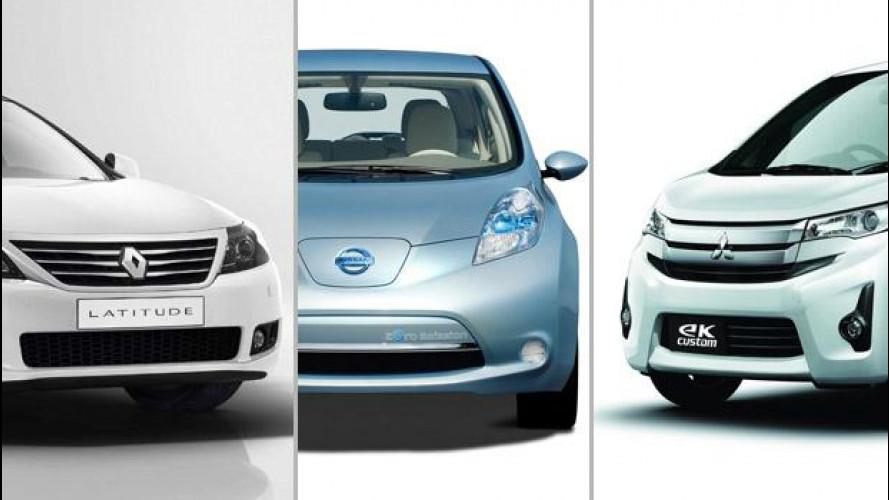 Renault-Nissan e Mitsubishi, insieme per nuovi progetti
