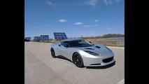 Electric Lotus Evora Blue Lightning