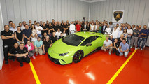 Lamborghini acoustic test room