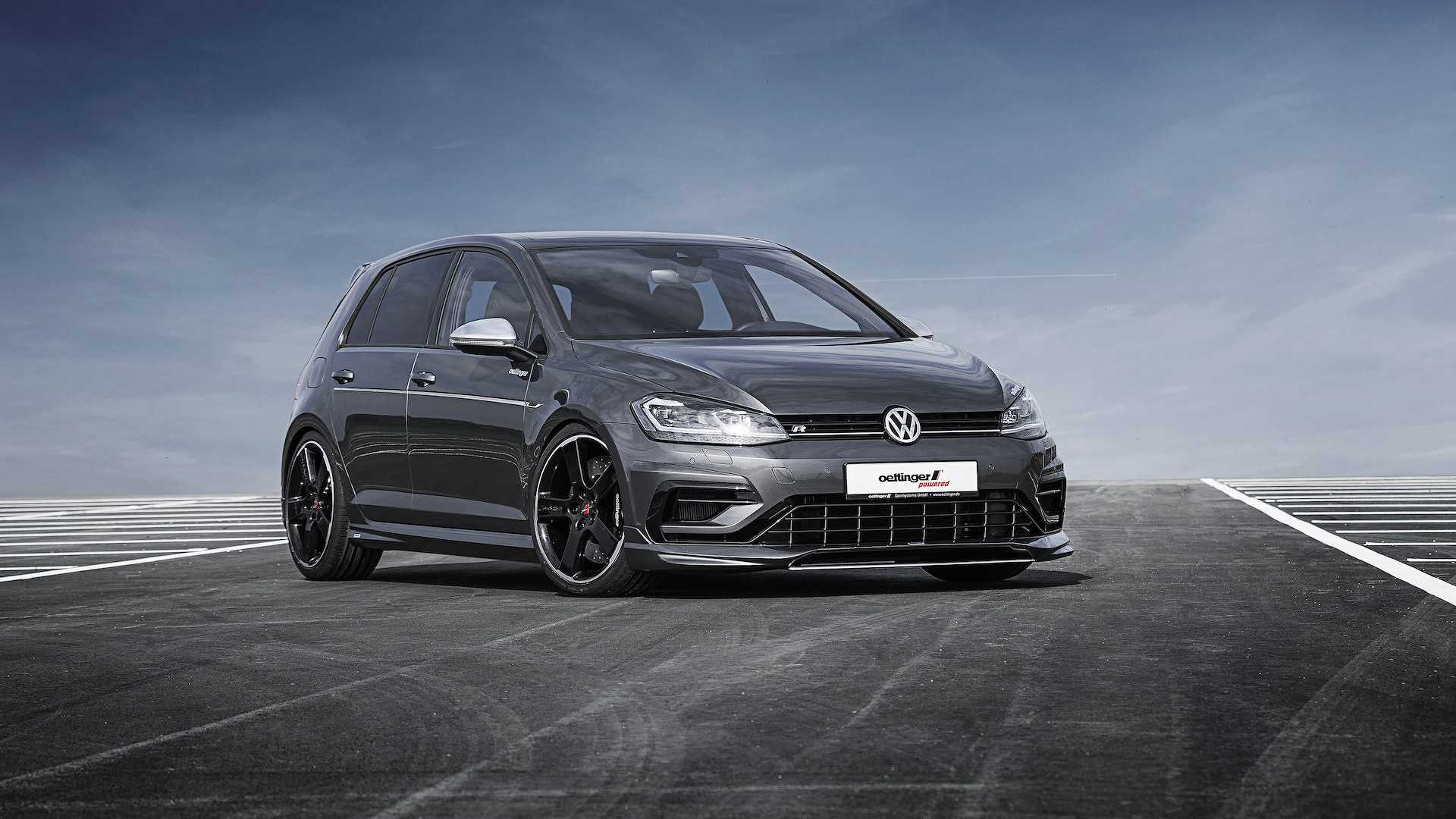 Vw Tuner Oettinger Sharpens Golf Gti Golf R For Worthersee