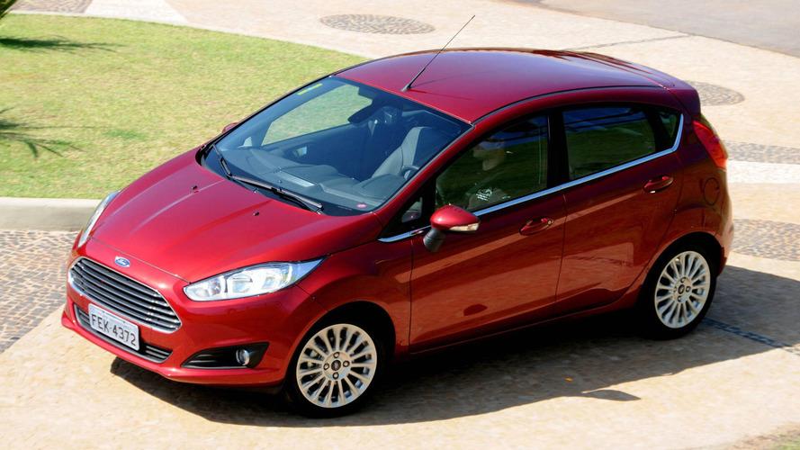 Hatches compactos em maio – Ford Fiesta é único a crescer
