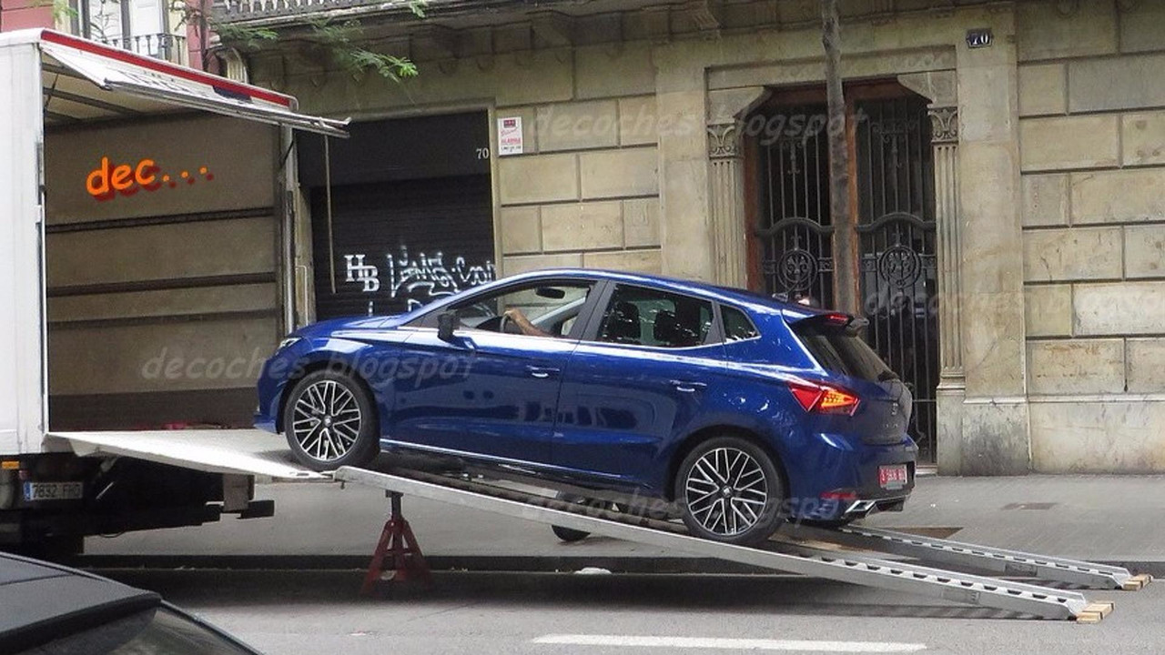 SEAT Ibiza con kit aerodinámico