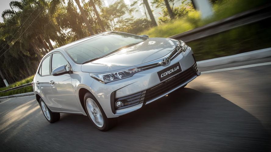 Toyota aumenta preços e Corolla fica até R$ 4 mil mais caro