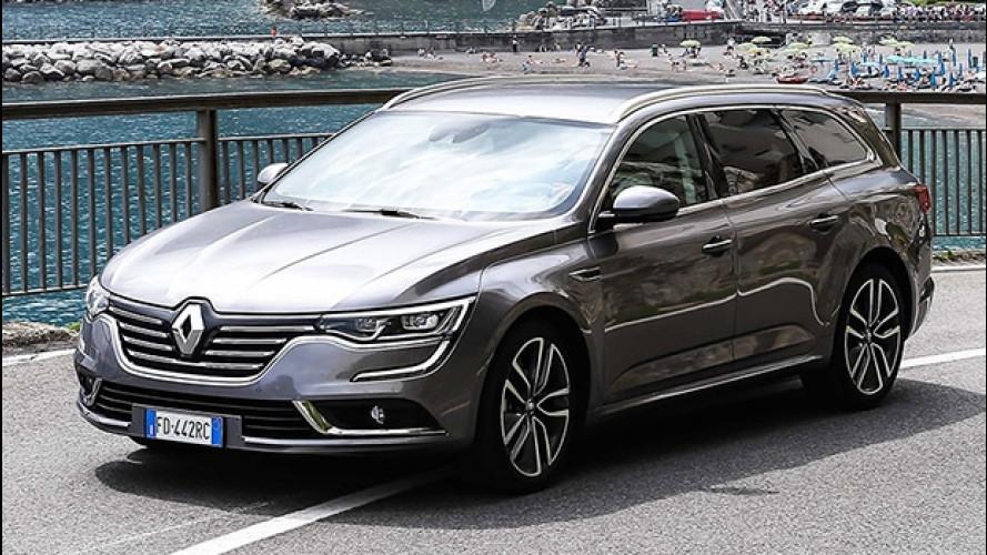 Renault Talisman Sporter, comodità per tutti
