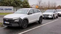 Hyundai FCEV fotos espía