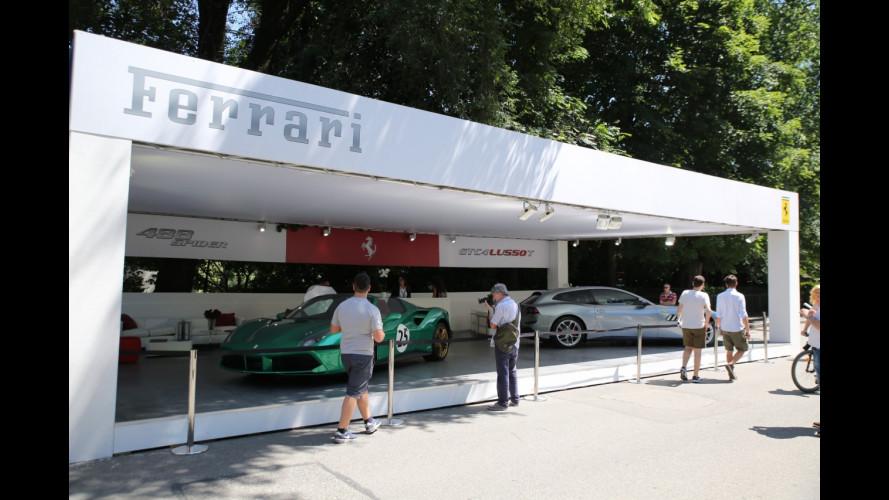 Ferrari a Parco Valentino 2017