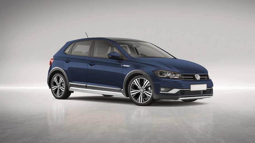 Volkswagen Polo Alltrack 2018 render