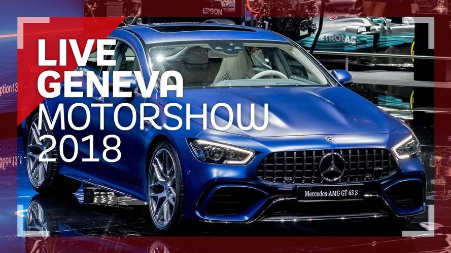 Genève 2018 - La Mercedes-AMG GT Coupe telle une vedette