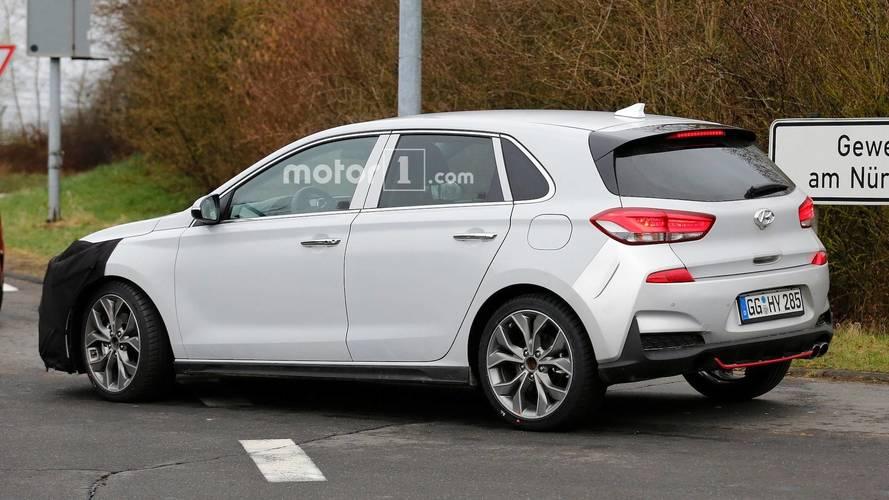 Hyundai i30 N-Line Spy Photos