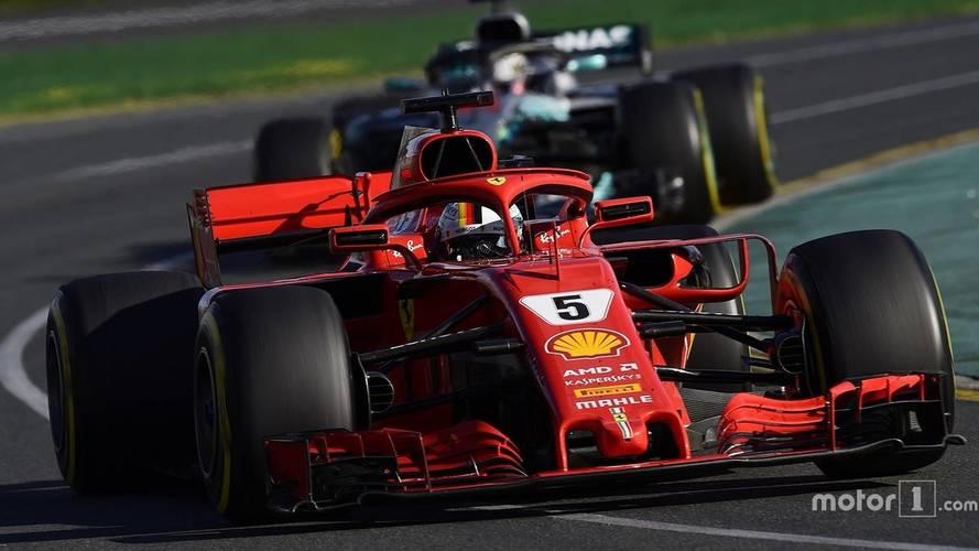 2018 Avustralya GP'de ilk sıra Vettel'in oldu