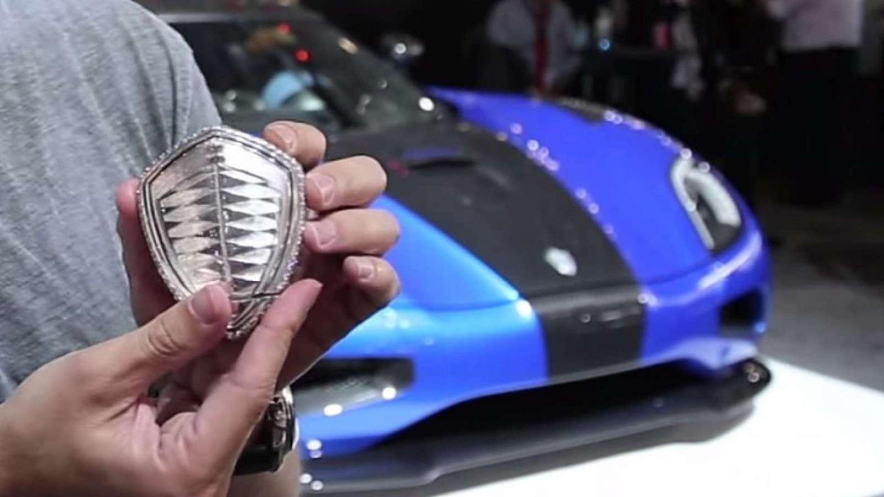 Koenigsegg Platinum Key