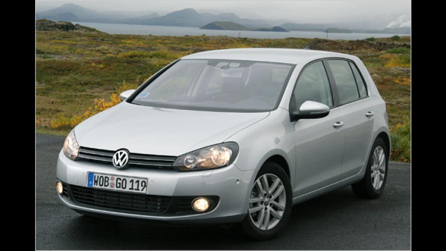 Der neue VW Golf wird umweltschonend hergestellt