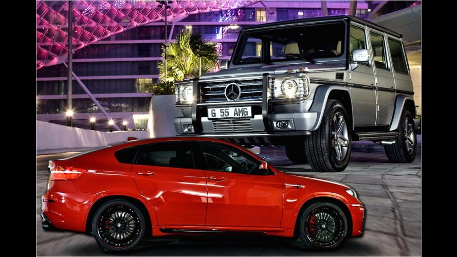 Die stärksten SUVs