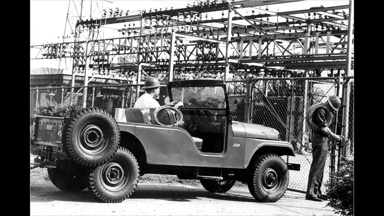 Jeep CJ-6: 1956-1975