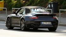 Porsche 997 Turbo Cabriolet Facelift Spied Still Testing