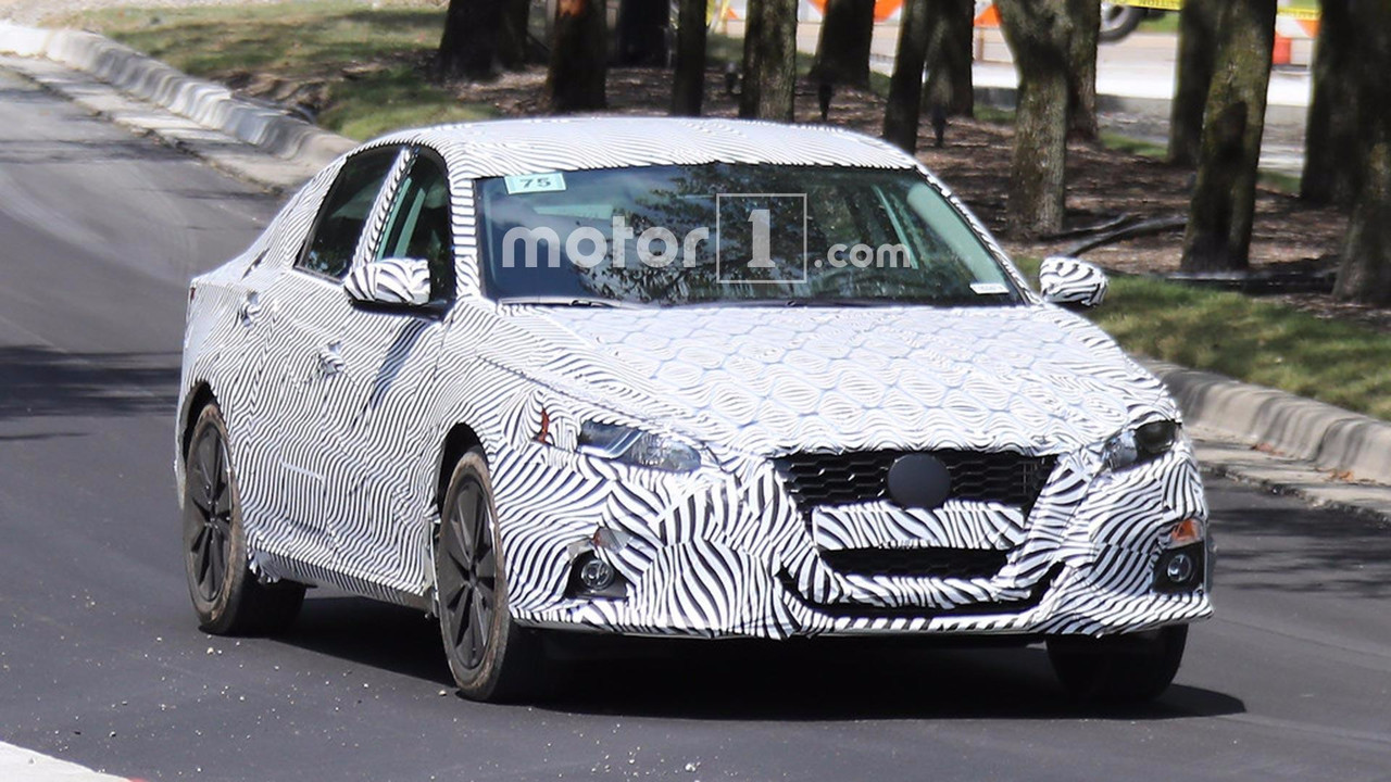 All New 2019 Nissan Altima Spied Testing For First Time