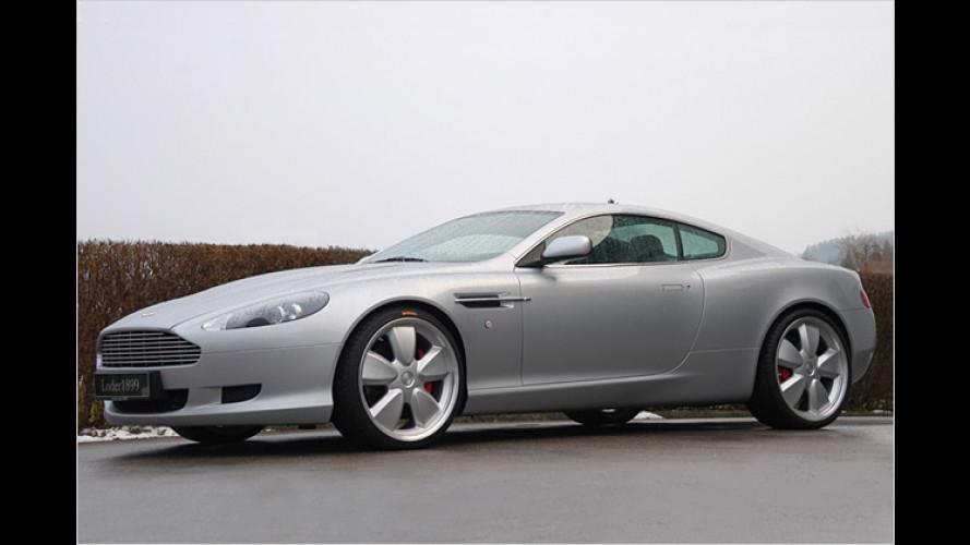 Loder Aston Martin: Leichte Sportschuhe für den Edel-Briten