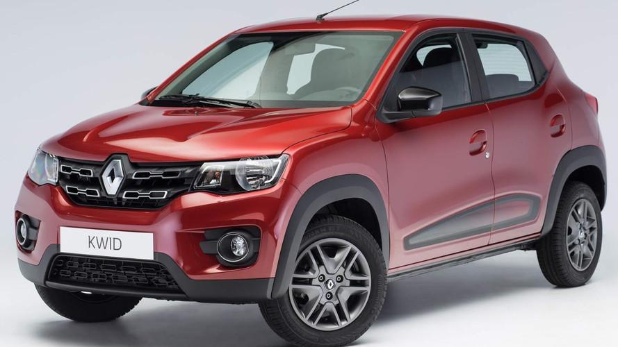 Renault Kwid já supera 7 mil unidades em pré-venda