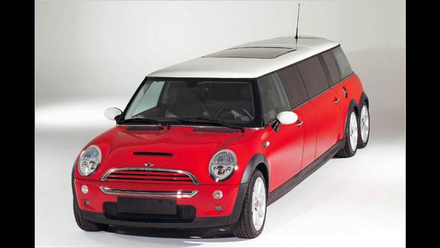 Super Size Mi(ni): Sechsrädriger Kleinwagen auf Rekordkurs