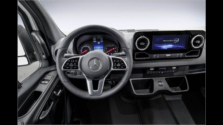 Mercedes Sprinter: Feines Cockpit