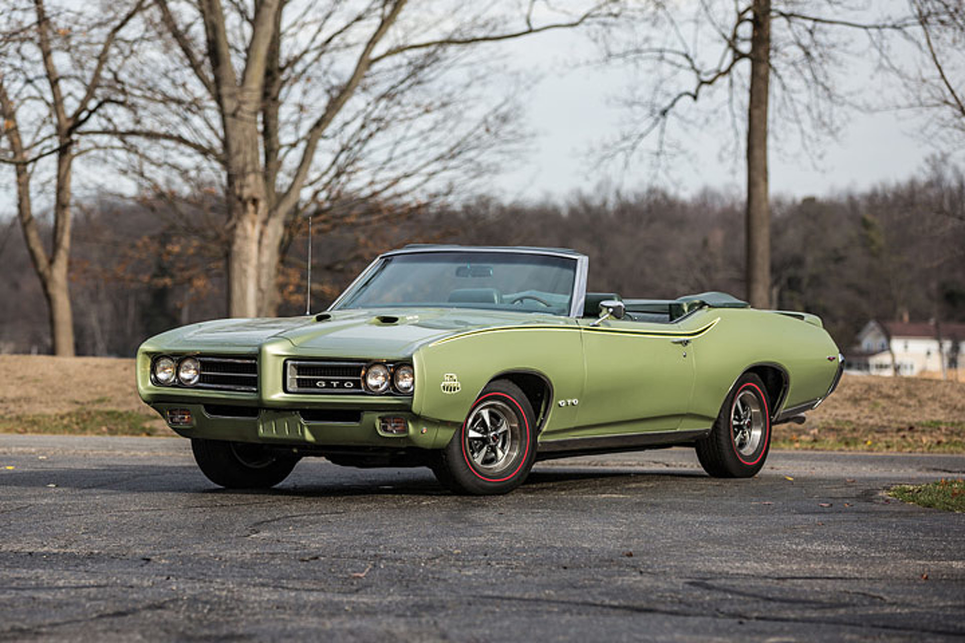 Meet the Only Triple-Green \'69 Pontiac GTO Judge in the World