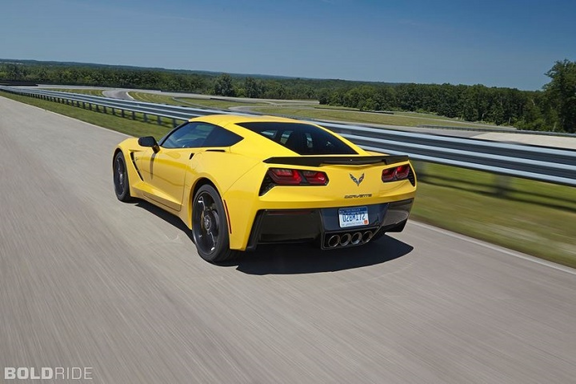 Watch This Show-Off Driver Nearly Wreck His Corvette