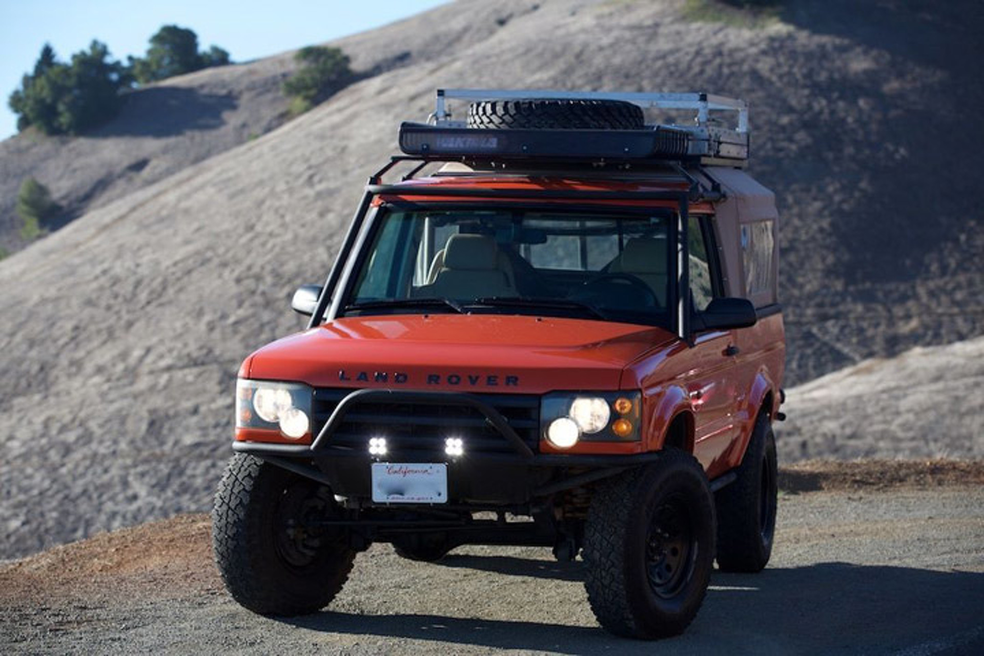 This Custom Land Rover Is One Tribute Car You Ll Actually Want