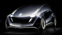 EDAG Light Car Concept design sketch
