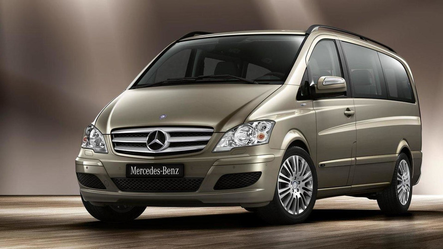 Mercedes Viano and Vito facelifts revealed