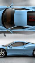 Ferrari 458 Italia - Babyblu