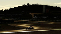 Jenson Button (GBR), McLaren Mercedes, MP4-25, The sun sets over testing - Formula 1 Testing, 19.02.2010, Jerez, Spain