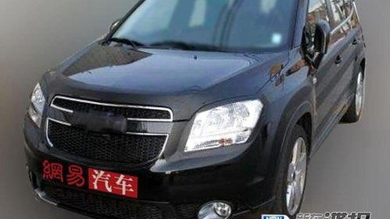 2012 Chevrolet Orlando spied in China, 500, 20.08.2010