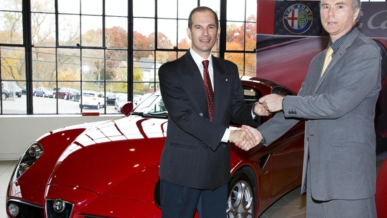 First Alfa 8C Competizione in U.S.