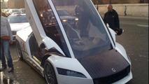 Giugiaro Quaranta concept becomes taxi