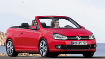 Volkswagen announces Golf Cabrio production spring 2011
