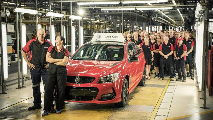 Avustralya'da 69 yıldır üretilen Holden'ın son otomobili fabrikadan çıktı