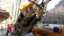 McLaren 12C crash in Taiwan