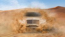 Bentley SUV teaser