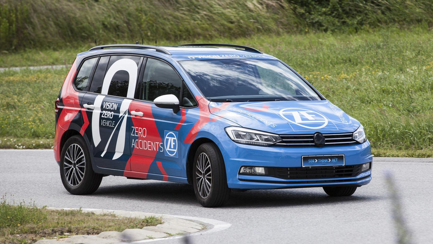 ZF's Vision Zero Vehicle Aims For Zero Accidents And No Emissions
