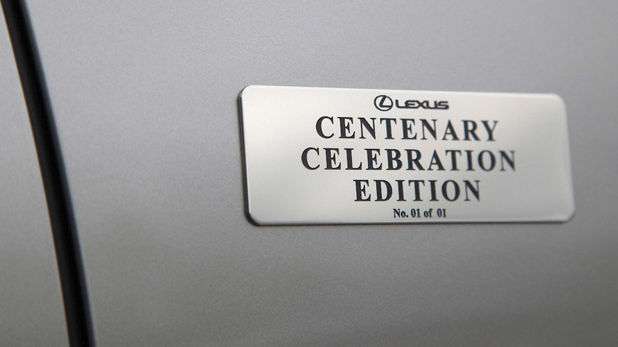 100 year old man buys Centenary Edition Lexus